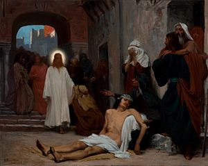 Jesus Christ in Capernaum (study)