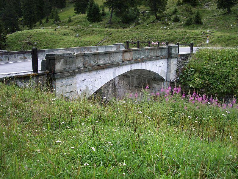 Splügenpass Marmorbrücke