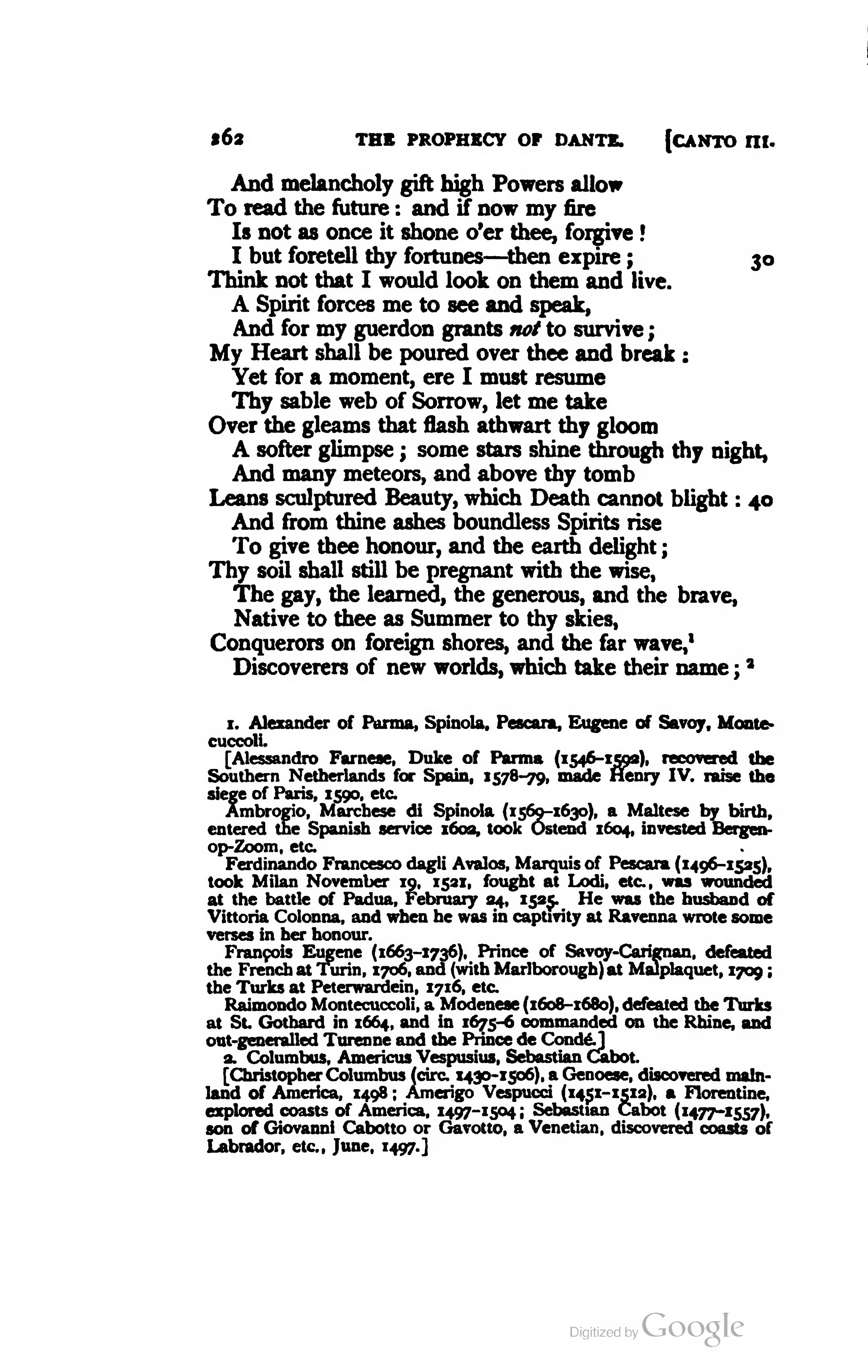 Page The Works Of Lord Byron Ed Coleridge Prothero