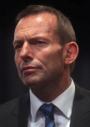 English: Tony Abbott in 2010.
