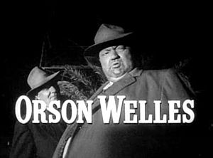 Screenshot of Orson Welles from the trailer fo...