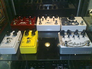 Effect pedals ;xotic effects