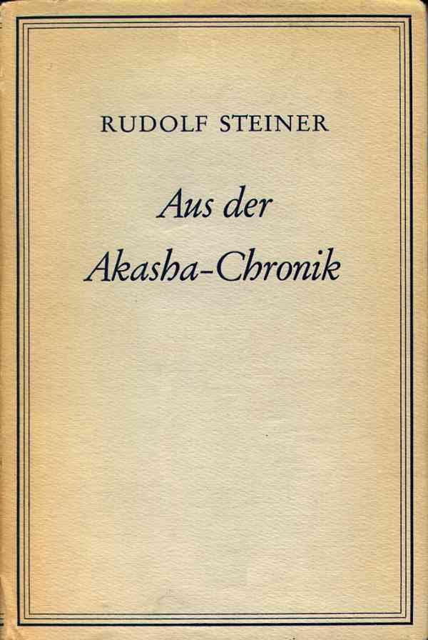 Steiner: Aus der Akasha-Chronik (Cover)