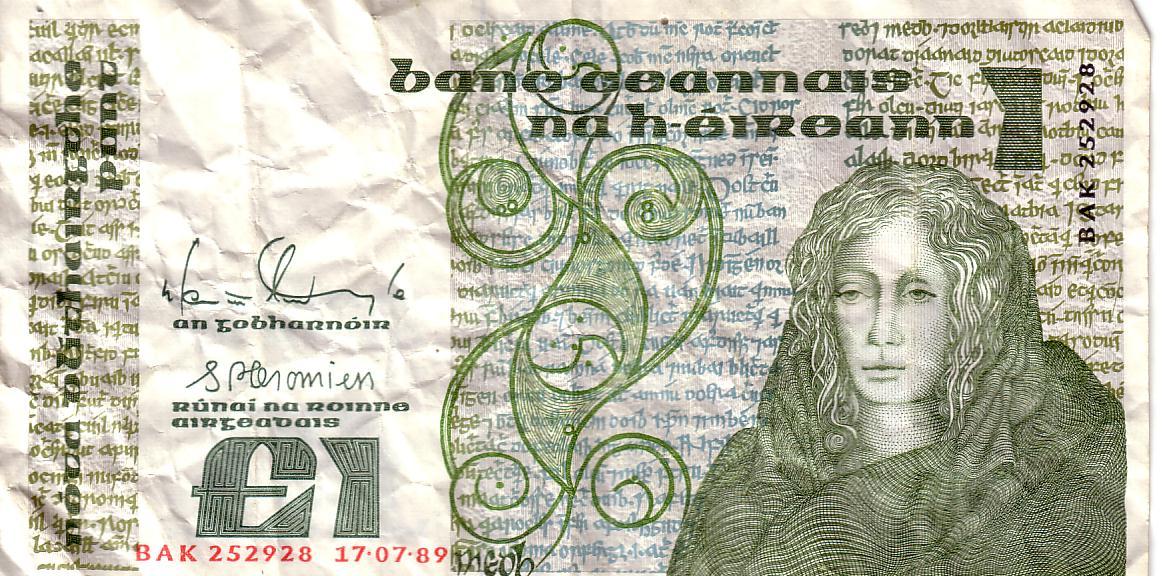 Irisches Pfund  Wikipedia