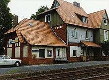 Bahnhof Naumburg an der Bahnstrecke Kassel–Naumburg