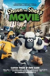 Poster for 2015 animated comedy film Shaun the Sheep Movie