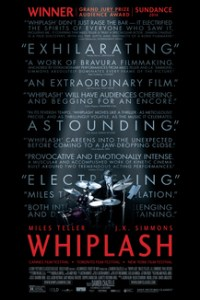 Poster for 2015 music drama Whiplash