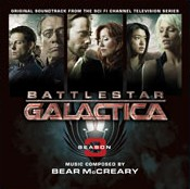 Battlestar Galactica Season 3 soundtrack cover art