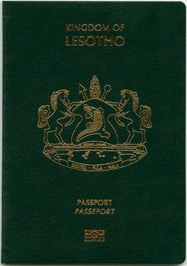 Lesotho passport  Wikipedia