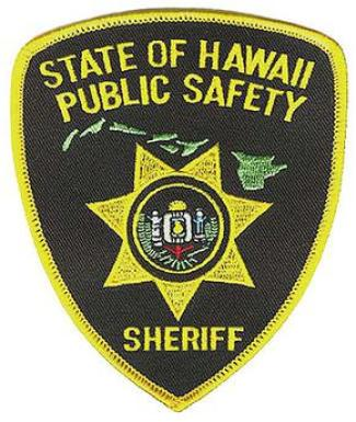 Hawaii Sheriff's Patch