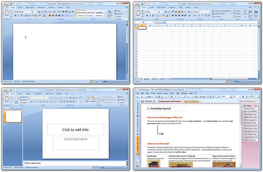 """Résultat de recherche d'images pour """"office 2007"""""""