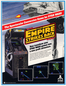 Star Wars The Empire Strikes Back 1985 video game