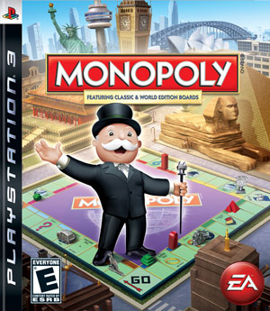 An example of a cover from a Monopoly video game