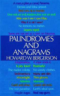 Palindromes and Anagrams  Wikipedia