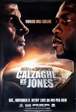 Joe Calzaghe vs Roy Jones Jr  Wikipedia