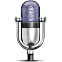 Iconic microphone image based on the design of...