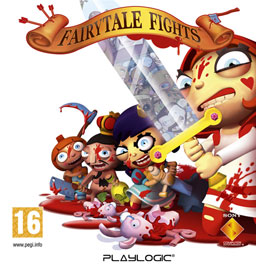 Fairytale Fights Video Game UK cover