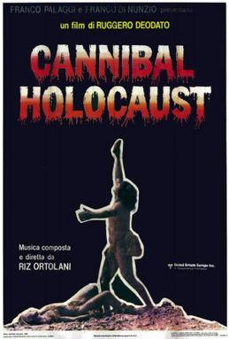 Poster for Cannibal Holocaust, one of the best...