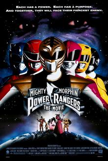 Teaser poster for Mighty Morphin Power Rangers...