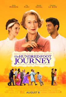 Pòster del film The Hundred-Foot Journey, de Lasse Hallstrom