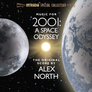 Music for 2001: A Space Odyssey album cover