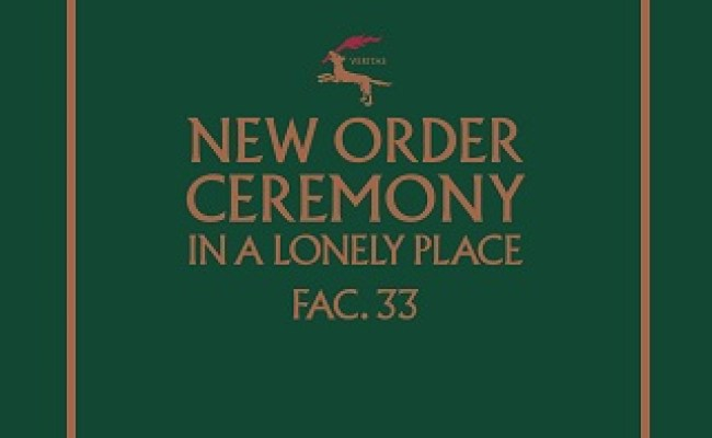 Ceremony New Order Song Wikipedia