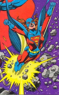 Superwoman (Kristin Wells). Art by Gil Kane, 1983.