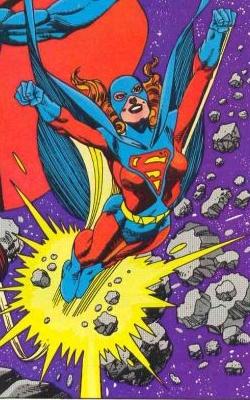 Superwoman (Kristin Wells). Art by Gil Kane, 1983.