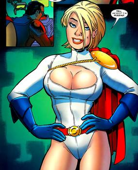 Power Girl, from JSA Classified #1 (2005). Art...
