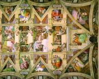 Sistine Chapel ceiling - Michelangelo (circa 15081512 ...