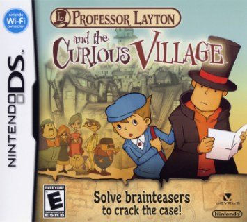 Image result for professor layton curious village box art