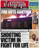Greenock Telegraph Front Page