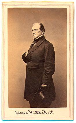 James Henry Hackett  Wikipedia