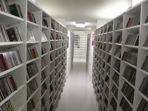 KMNR's extensive CD collection