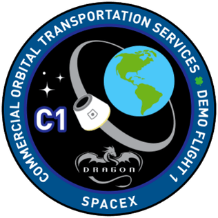 SpaceX Dragon Mission patch