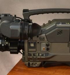 sony betacam sx side view [ 2657 x 1521 Pixel ]