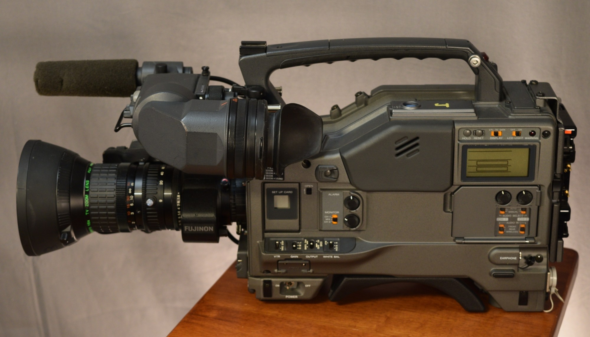 hight resolution of sony betacam sx side view