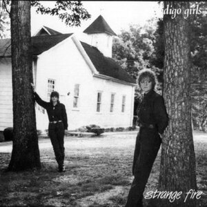 CD cover of Strange Fire from Indigo Girls