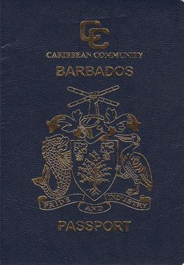 Barbados passport  Wikipedia