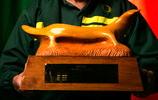 Platypus Trophy following restoration in 2007