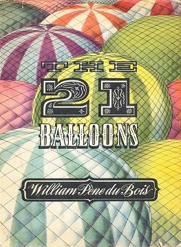 the twenty one balloons Encuentra twenty-one balloons de william pene du bois (isbn: 9780440491835) en amazon envíos gratis a partir de 19.