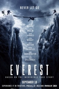 Poster for 2015 drama Everest