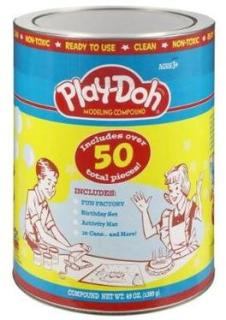 Play-Doh Retro Canister