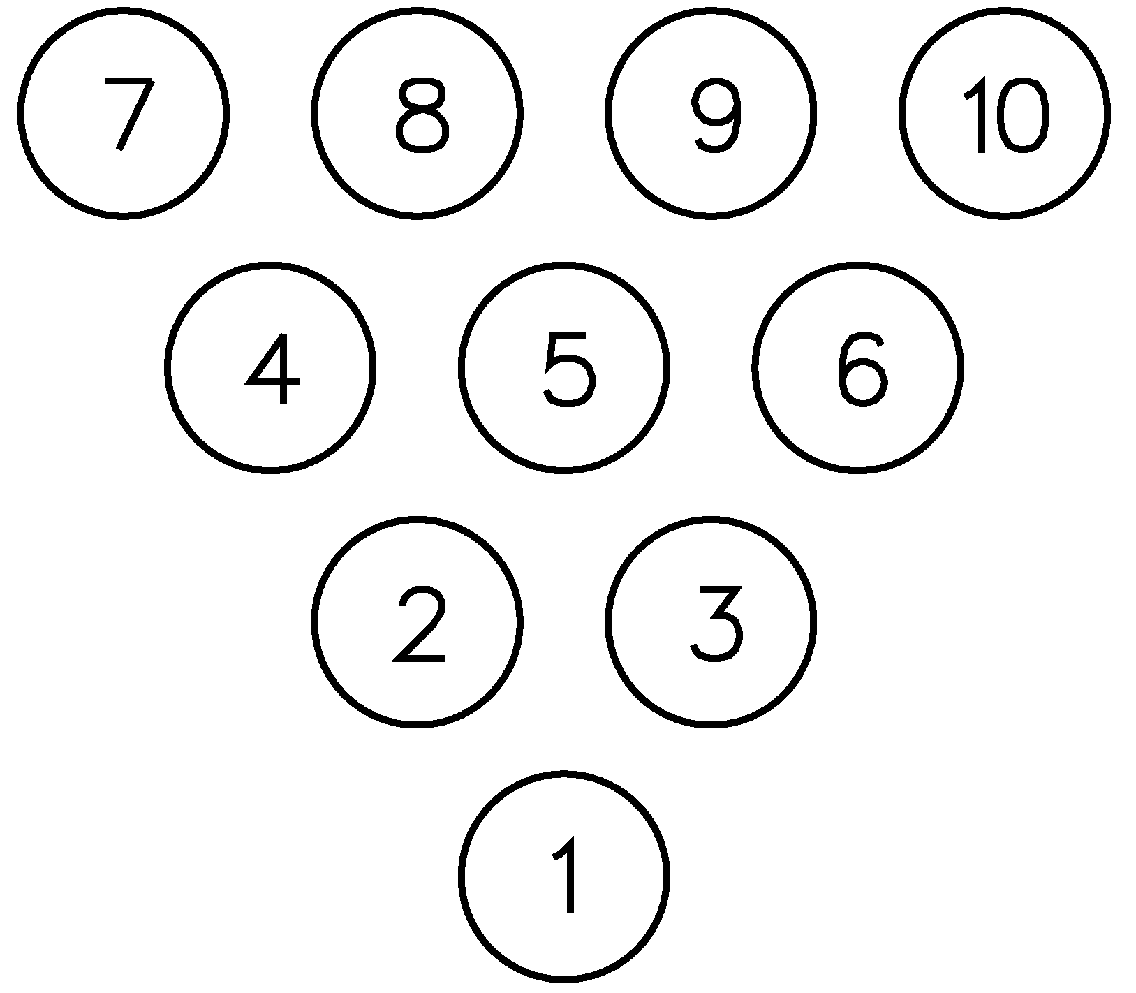 bowling pin number layout pictures to pin on pinterest