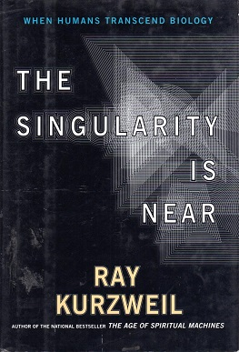 Portada del libro The Singularity Is Near de Ray Kurzweil