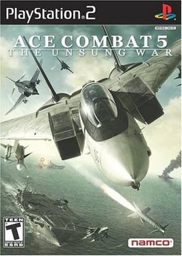 Ace Combat 5 Box US