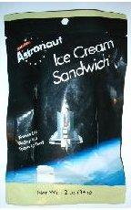 Freeze-dried ice cream sandwich
