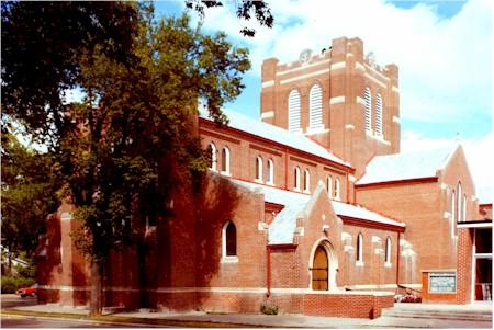 St Matthews Anglican Cathedral Brandon  Wikipedia
