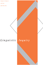 Linguistic Inquiry