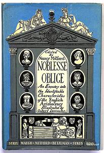 Noblesse Oblige book  Wikipedia
